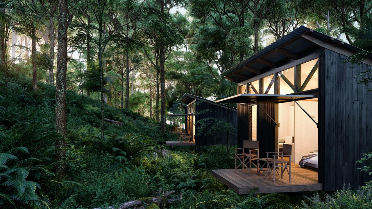 Spicers Timber Eco Cabins will entice visitors to the region.