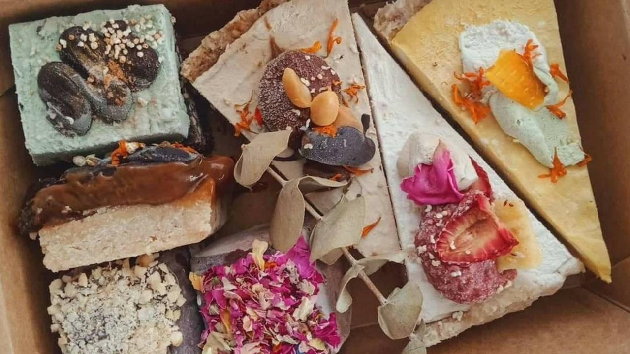 Rosebed and Finch will have some of their raw, vegan and gluten-free treats in the subscription boxes. Picture: The Local Graze