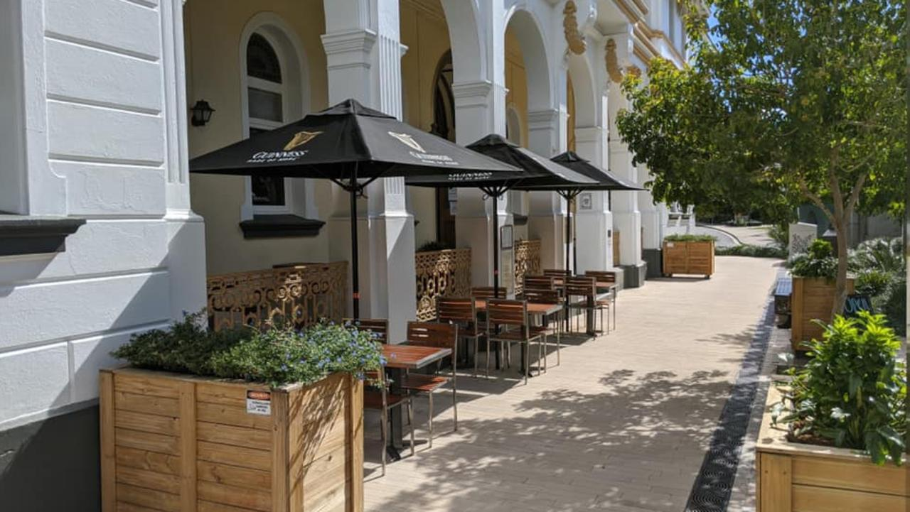 New alfresco dining is available at Rockhampton's popular venue The Criterion Hotel.