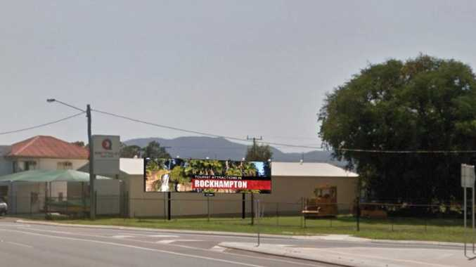New electronic billboard to light up Rockhampton highway