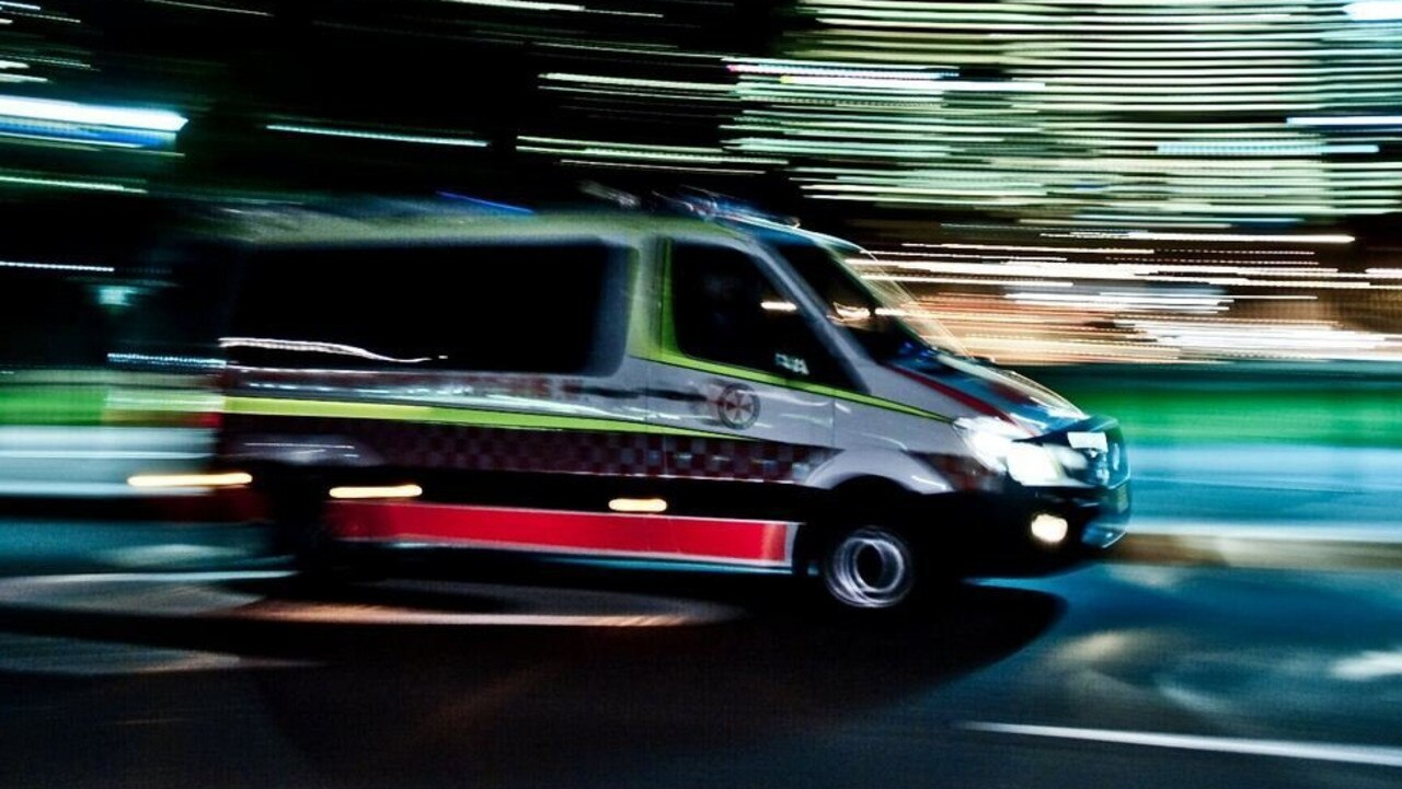A teenager was taken to Sunshine Coast University Hospital after a crash.
