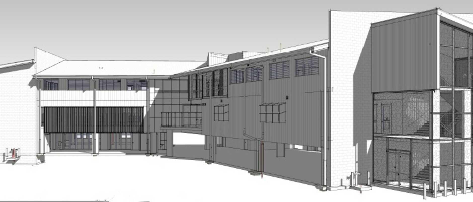 BUILDING EDUCATION: Artist's impression of Bundaberg SHS new secondary learning centre.