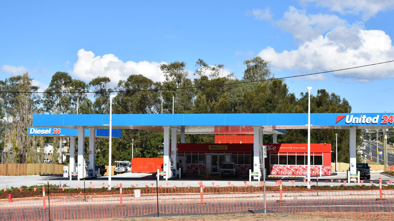 United Petroleum Warwick unveiled their new station on Wallace St.
