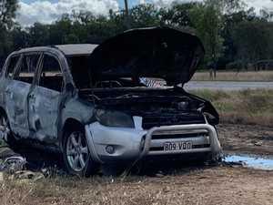 Police are investigating 'suspicious' car fire