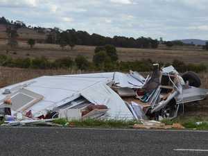 CARAVAN CARNAGE: Photos reveal extent of horror crash