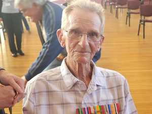 Veteran finally honoured after 75 year wait for recognition