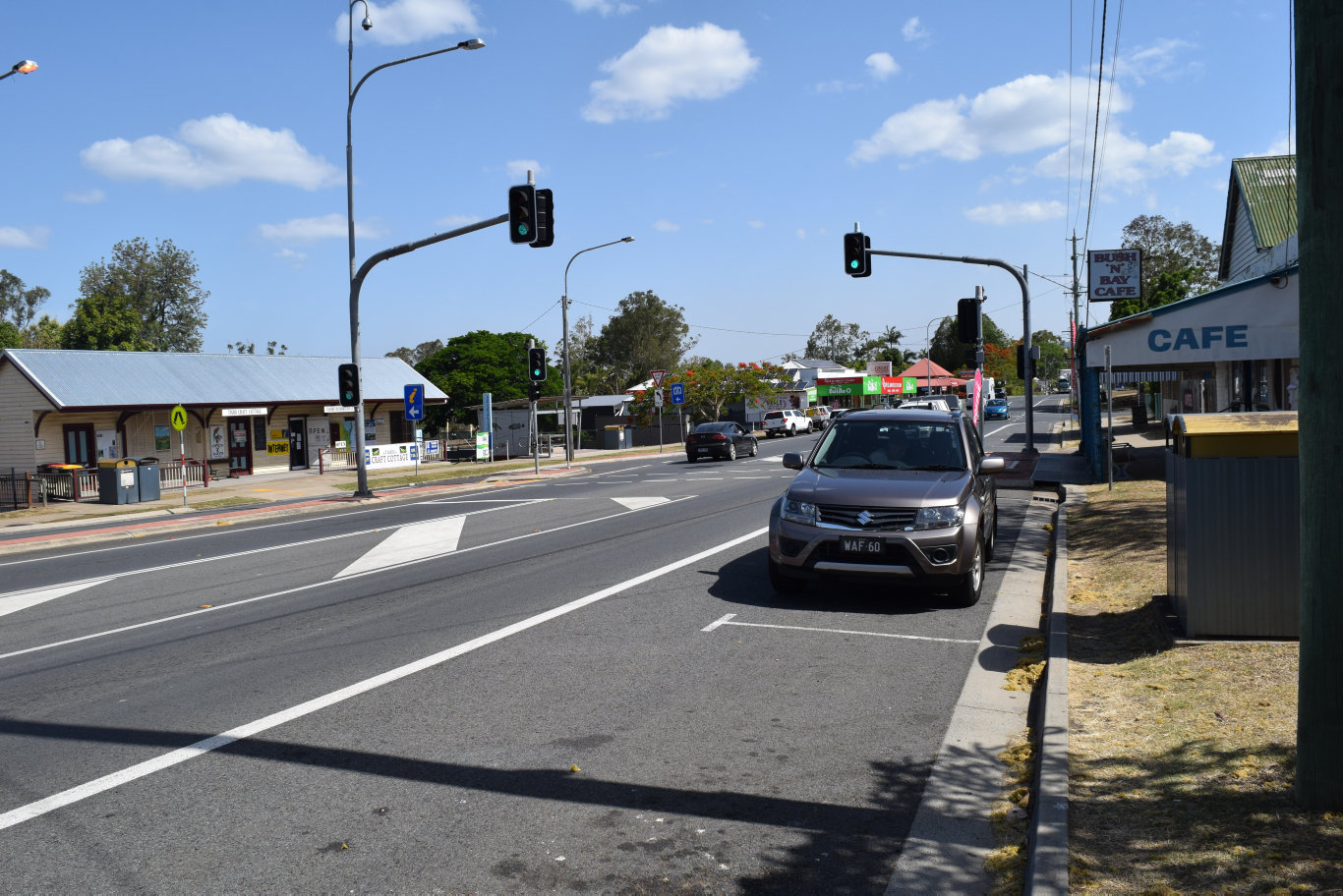 The council will begin to prepare the town of Tiaro for the Bruce Hwy bypass.