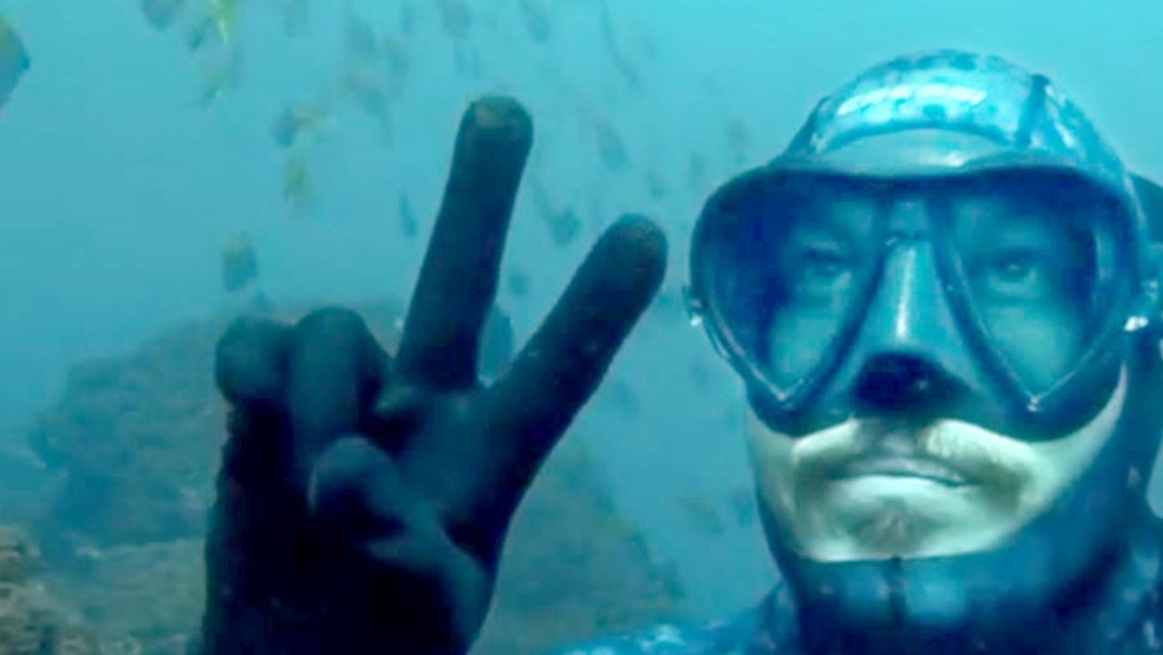 Alex 'Chumpy' Pullin, free diving. – Photo: Instagram