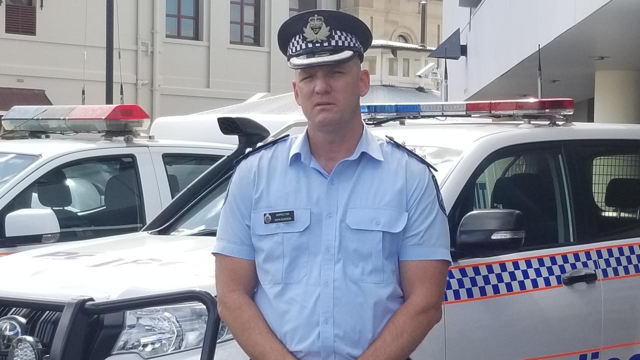 Inspector mark Burgess from Rockhampton Police.