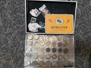 Quest to reunite stolen stamp and coin stash with owner