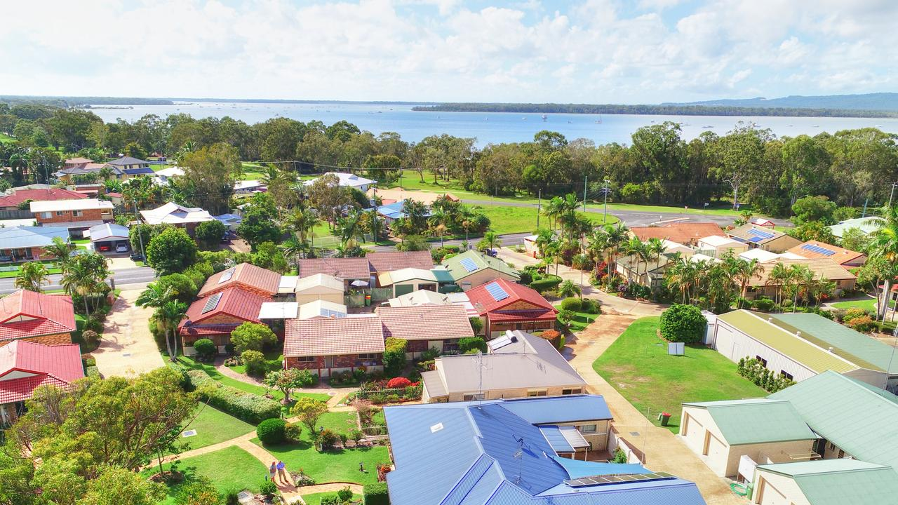 More than 50 residents are in limbo as a result of the collapse of Tin Can Bay's Cooloola Waters Retirement Resort into liquidation.