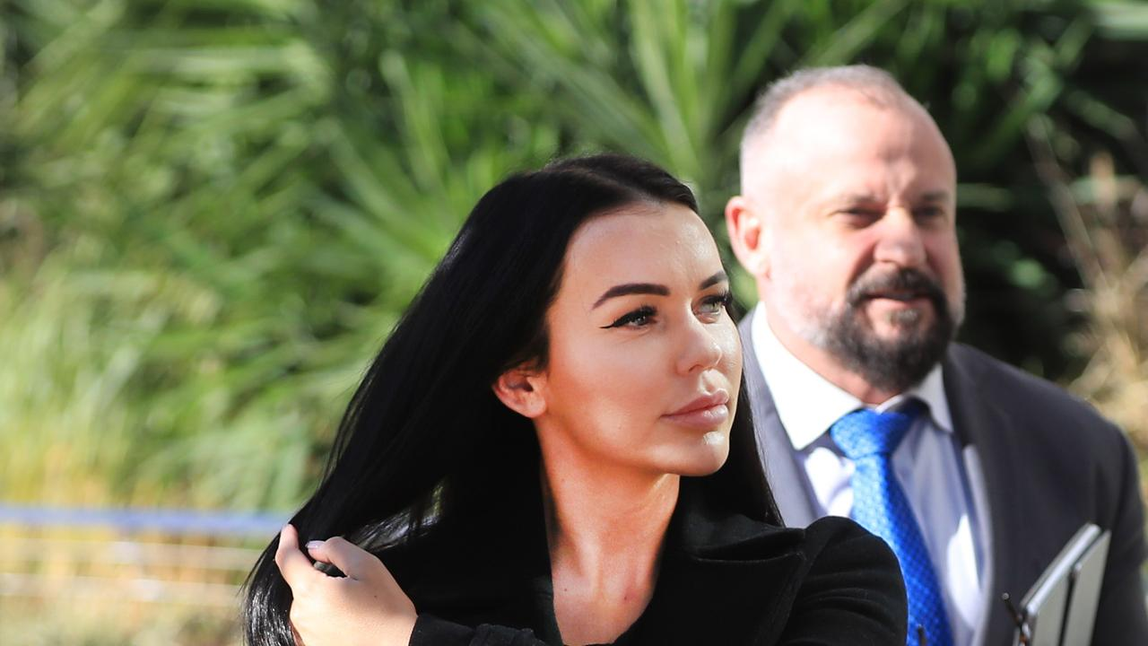 Hayley Isabella Webb is charged with contravening order about information necessary to access information stored electronically. Photo Scott Powick