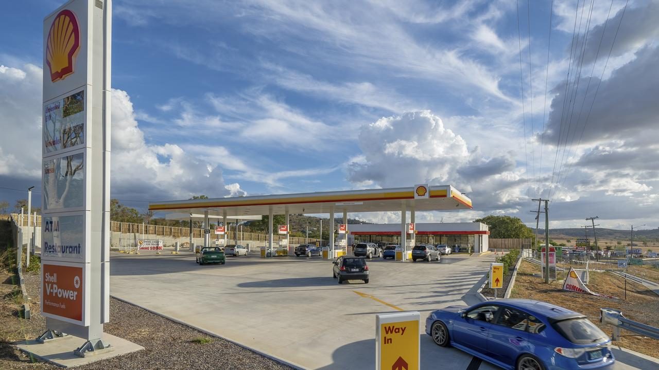 The Hatton Vale Shell service station sold for $6.8 million.