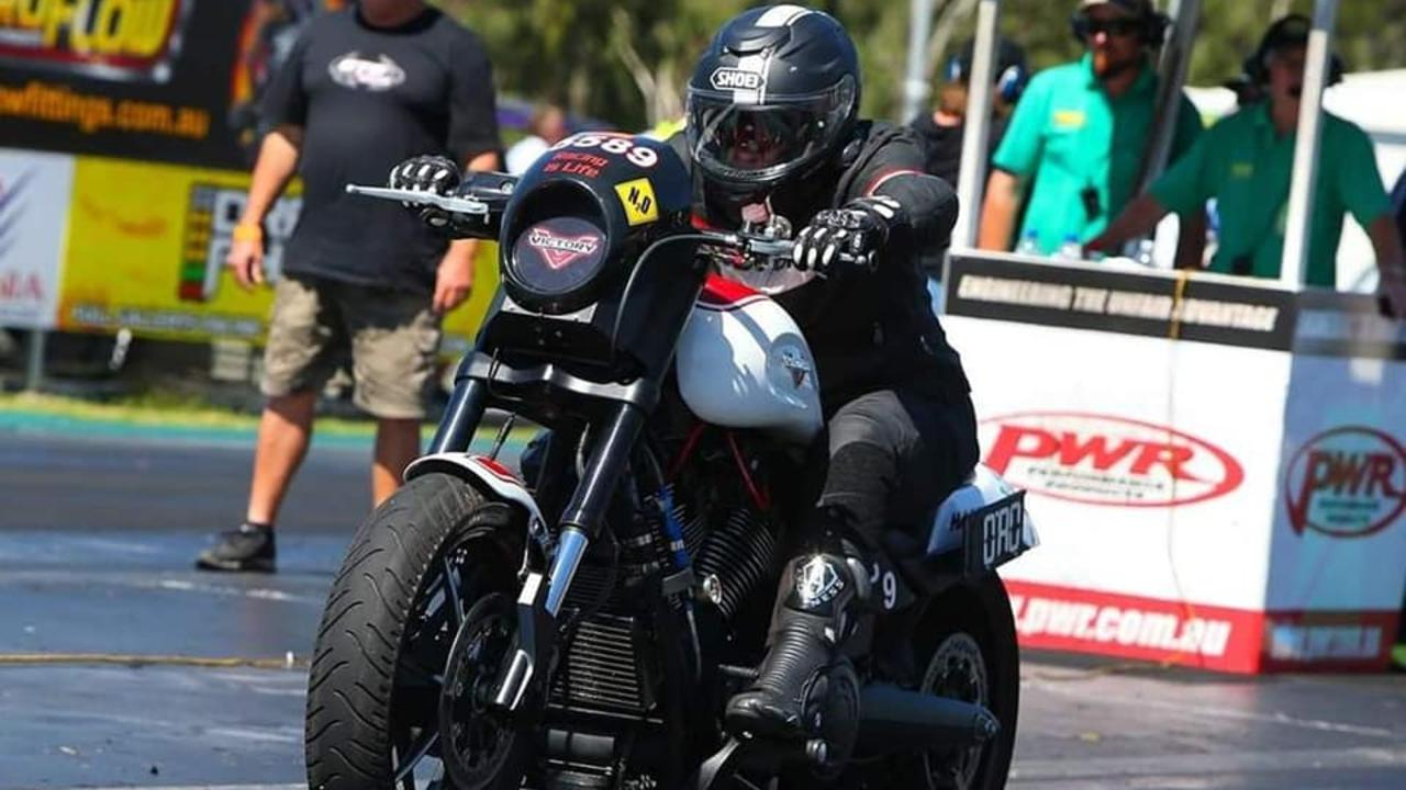 Gladstone's Suzanne Watson has been riding motorcycles for 26 years and racing since 2012.