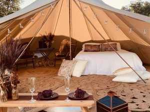 Glamping and fine dining show off region's hidden gem