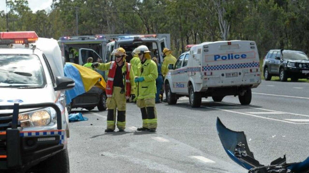 The scene of the Artillery Rd crash where 9-year-old Zara Pakleppa tragically died last year.
