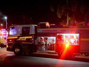 Ten fire crews fight to contain Blackbutt inferno