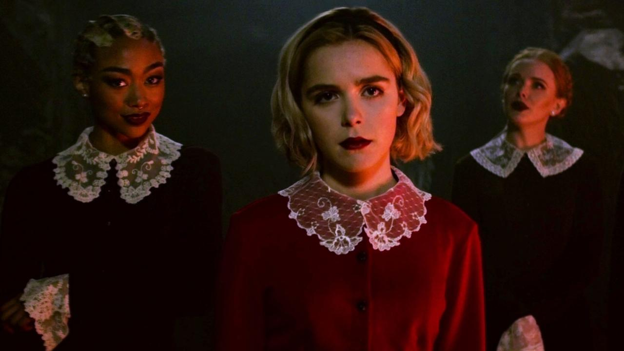 Fans will say goodbye to Chilling Adventures of Sabrina forever after season 4. Picture: Netflix