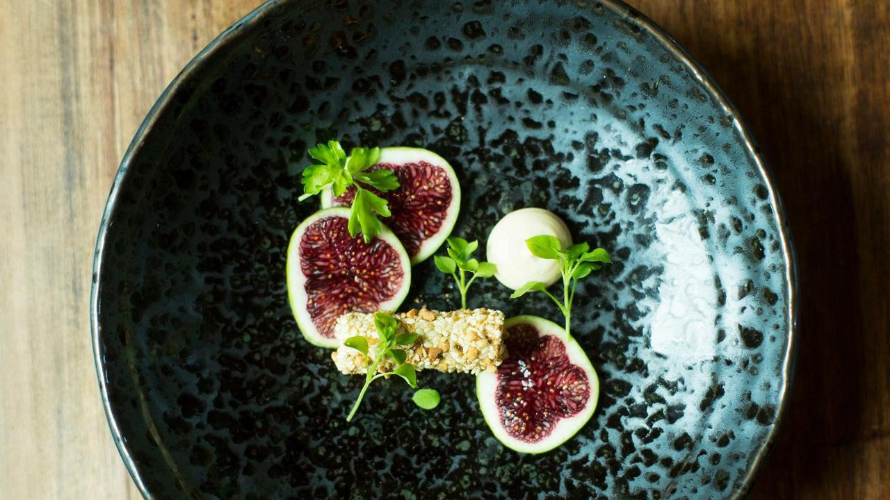 A dish prepared by Alan Dawes. Picture: Matt Austin.