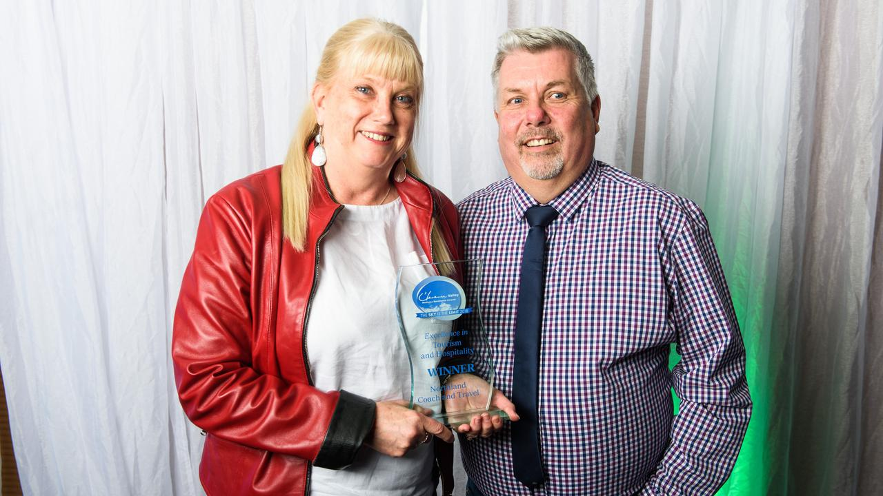 Owners of Northland Coach and Travel Janelle and Alan Hale have seen their award-winning business hit hard by coronavirus pandemic public health restrictions.