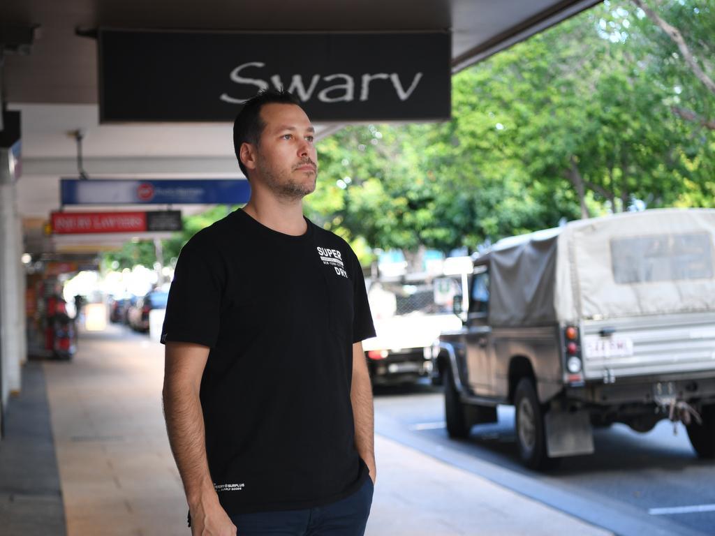 Cory Furber of Swarv Menswear on East St