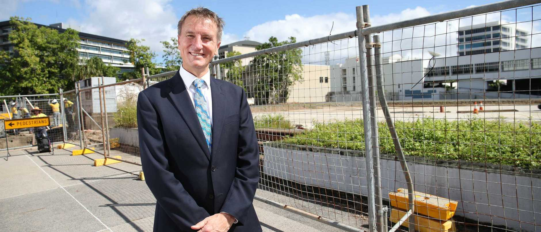 CQUniversity has singled out a prime corner block for a new campus and is pushing for $50 million in Federal Government funding.