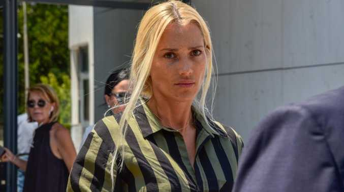 Playboy widow addresses court over murder