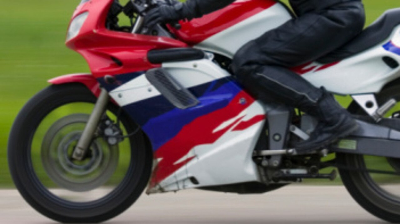 A motorcyclist has reportedly been found lying injured on a Rockhampton road.