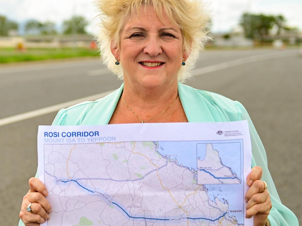 Michelle Landry said there was $64 million in Federal Funding for the Rockhampton-Yeppoon Road duplication project.