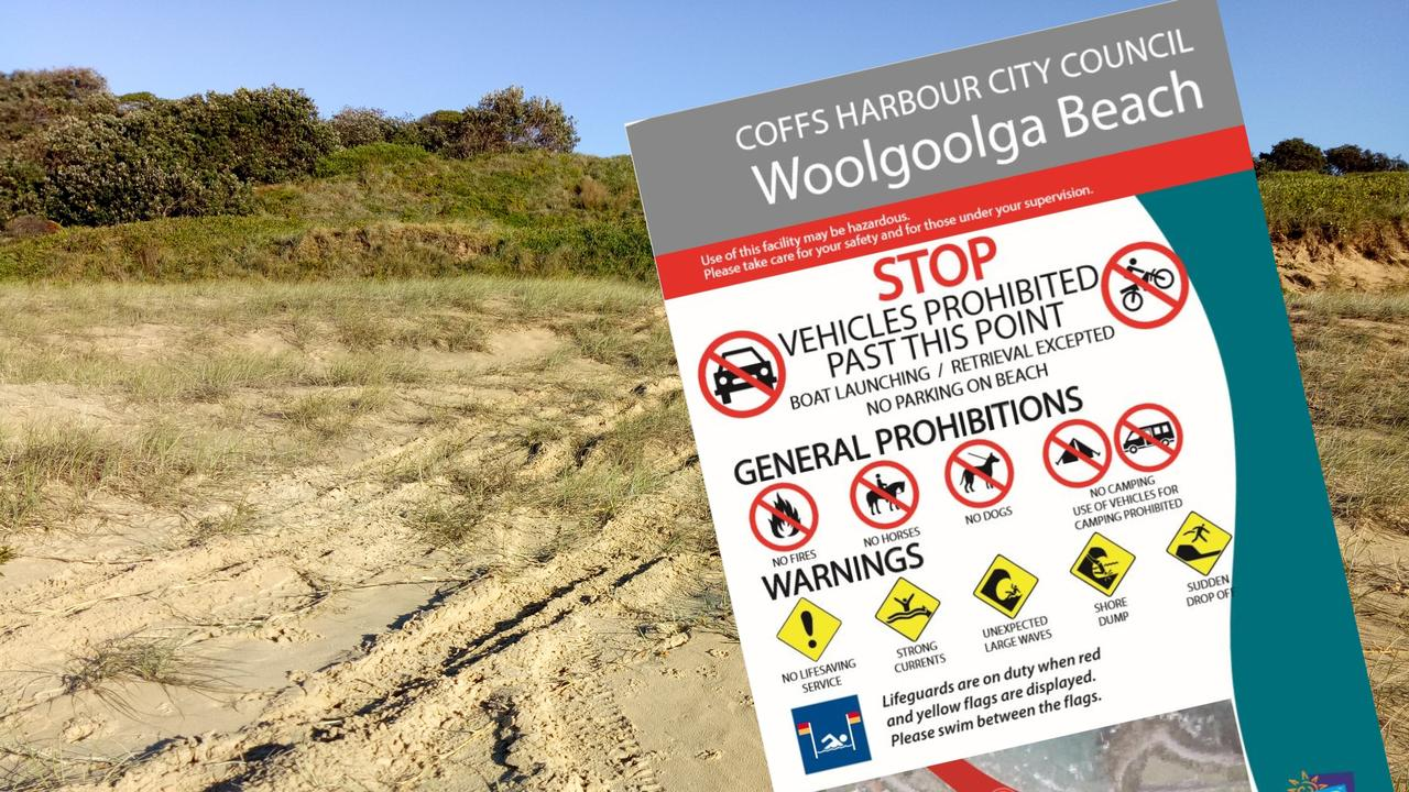 Signs informing the community of Council's new driving on beaches policy will be installed in coming weeks.