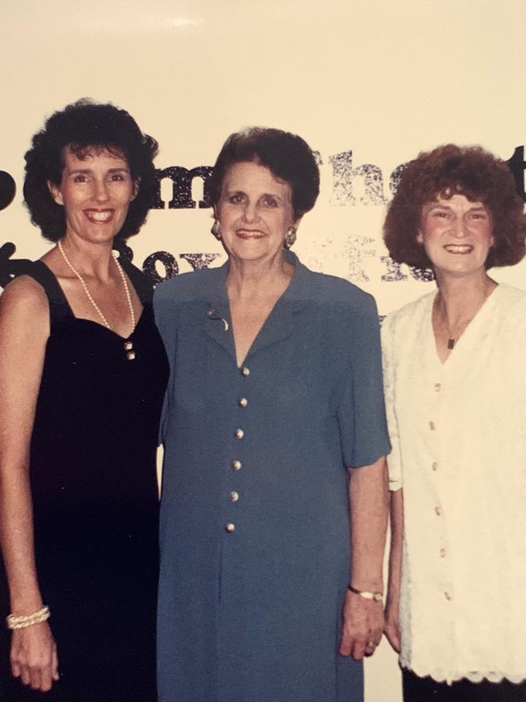 Elaine Watson (centre) with Jan Kennedy and Pat McKenna