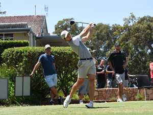 Top golfers swing back into Coffs