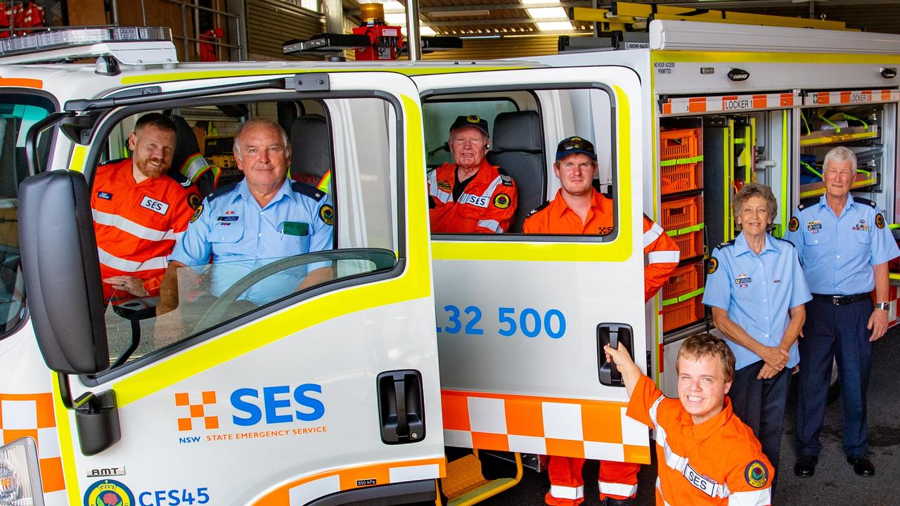 New SES vehicle Coffs Harbour. 05 FEB 2018