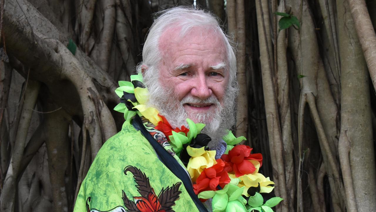 Local historian Denis McCarthy spent 40 years collecting and researching Australian South Sea islander history and artefacts which are on display at the exhibition of The Australian South Sea islanders, at Mackay Regional Council's JCC Foyer.