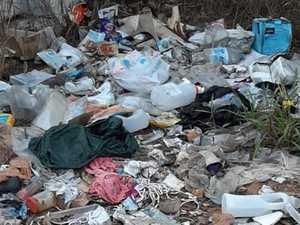 Litter bugs turn bushland into dumping grounds