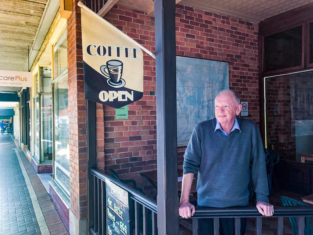 Skyes Coffee Lounge owner Laurie Fitzpatrick sees a bright future for the Maclean business district.