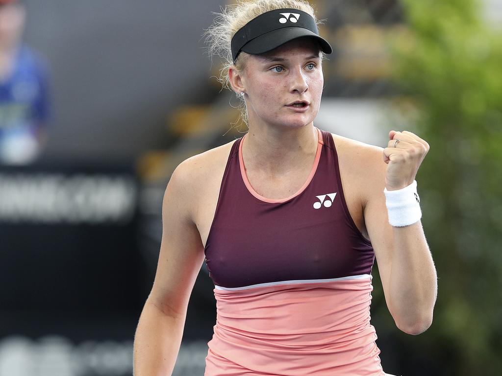 Dayana Yastremska says she only had good intentions.