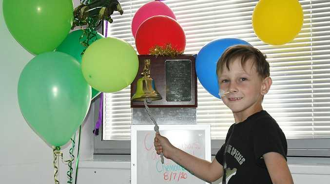 Youngster defies odds to enjoy milestone achievement