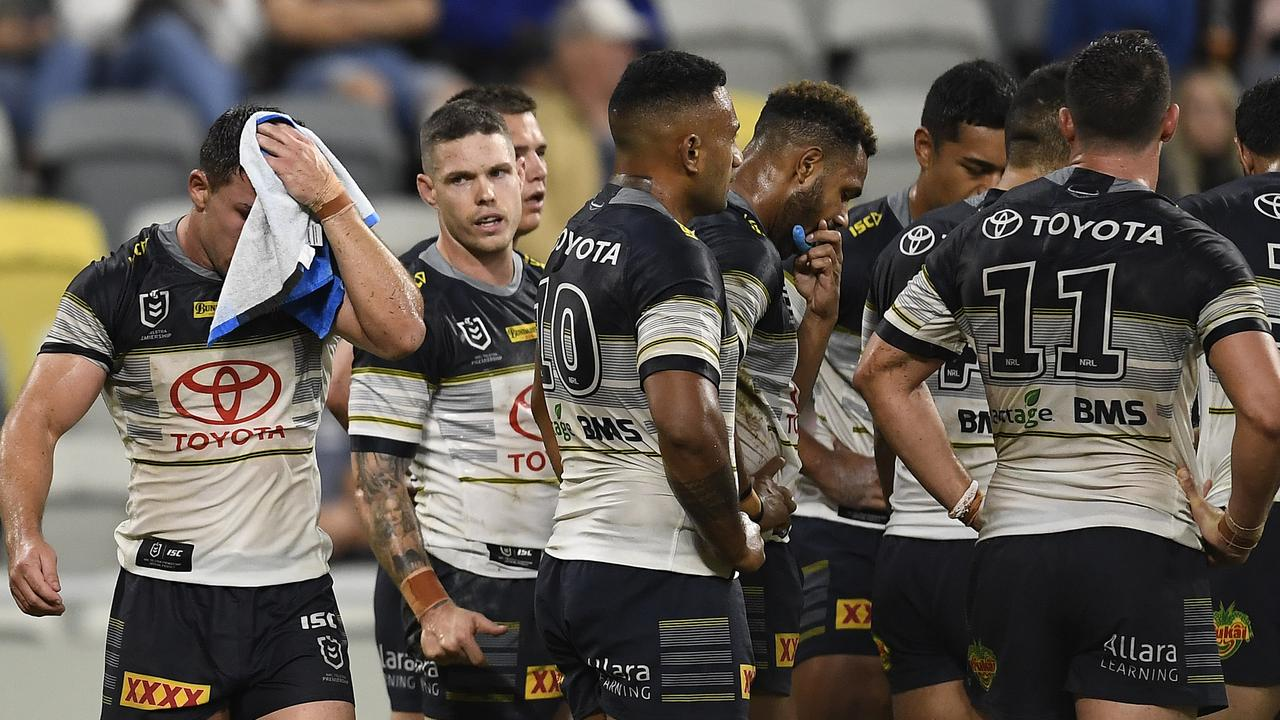 The Cowboys defence is not up to NRL standard at times.