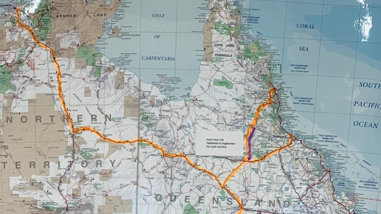 A NEW WAY: Warri Gate Road could be used as an important freight route through regional Australia, bypassing the Bruce, New England, Leichhardt and Canarvon Highways.