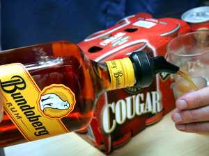 Man sideswipes truck then sculls rum before breath test
