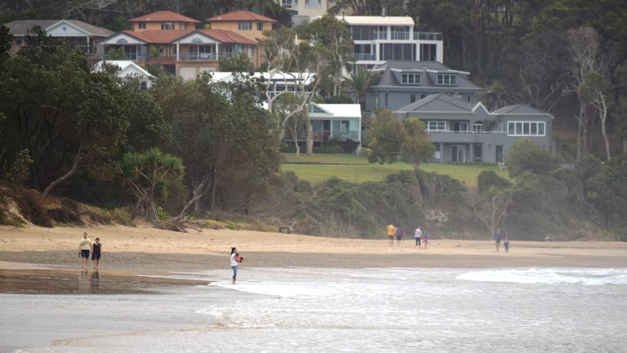 A woman, 49, lost her life at Diggers Beach days before Christmas in 2017. Photo: Matt Deans