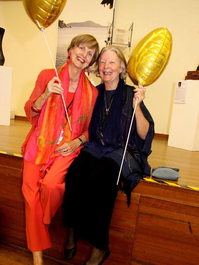 Heart of Gold film festival, Gympie : Australian Story's Caroline Jones and Joana Franklin