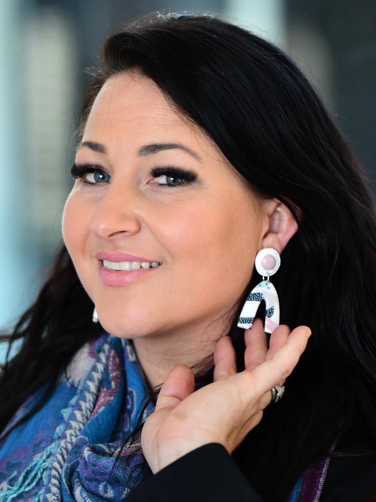 ILIMAZ: Telea Erkoceviq has designed a range of earings.