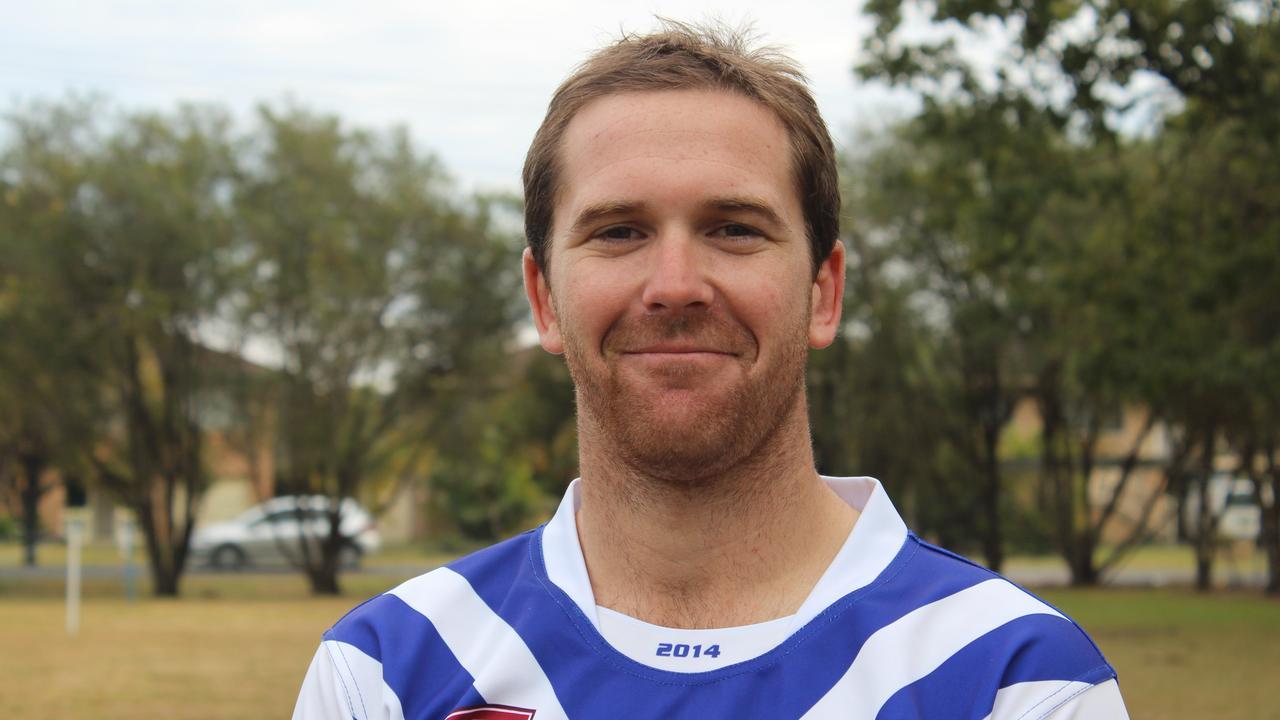Former Grafton Ghosts captain-coach Ryan Farrell
