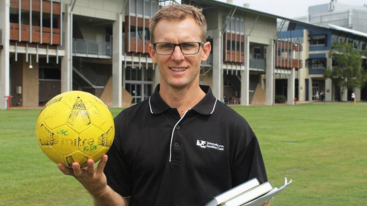 USC researcher Dr Scott McLean.
