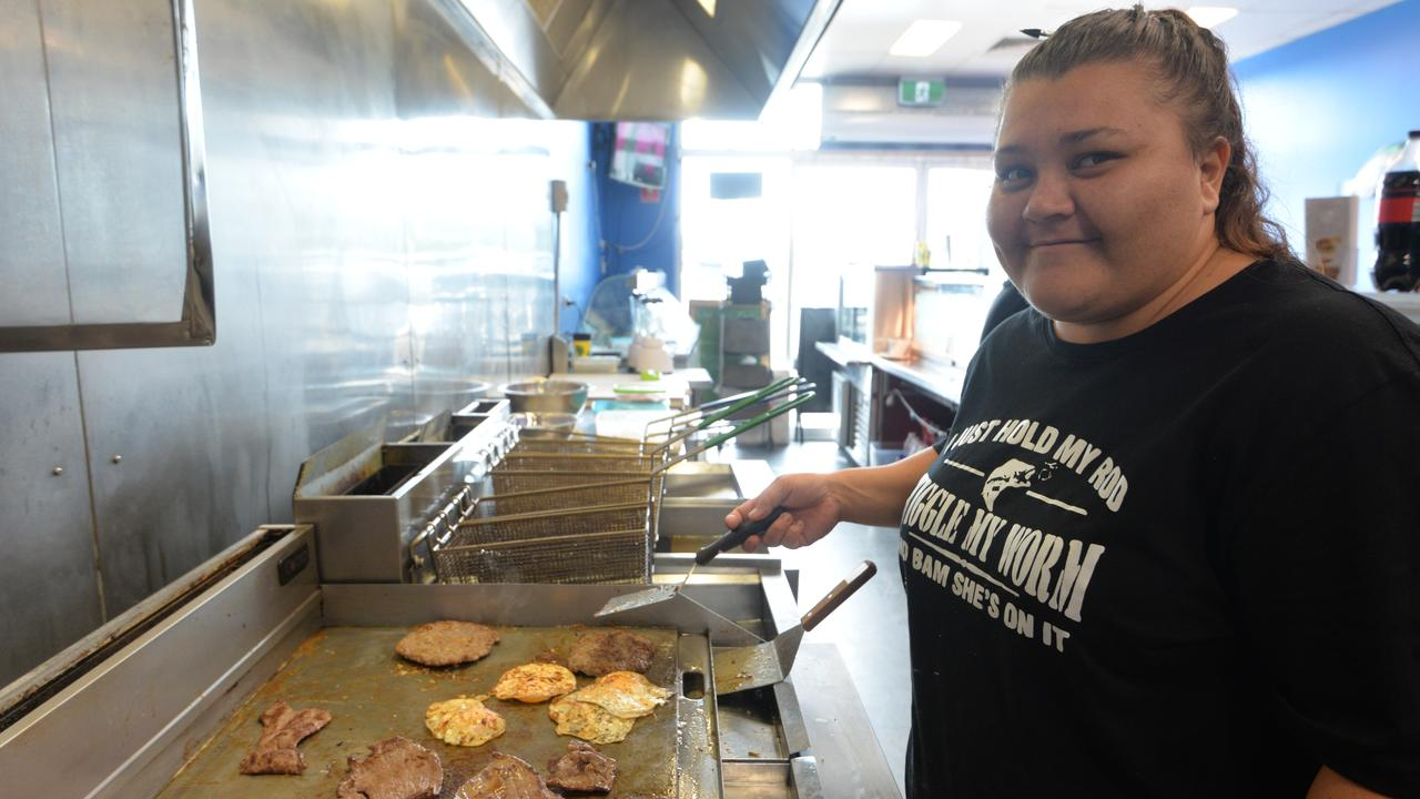 Chanelle Dickson from Burnett Heads Seafood and Grill.