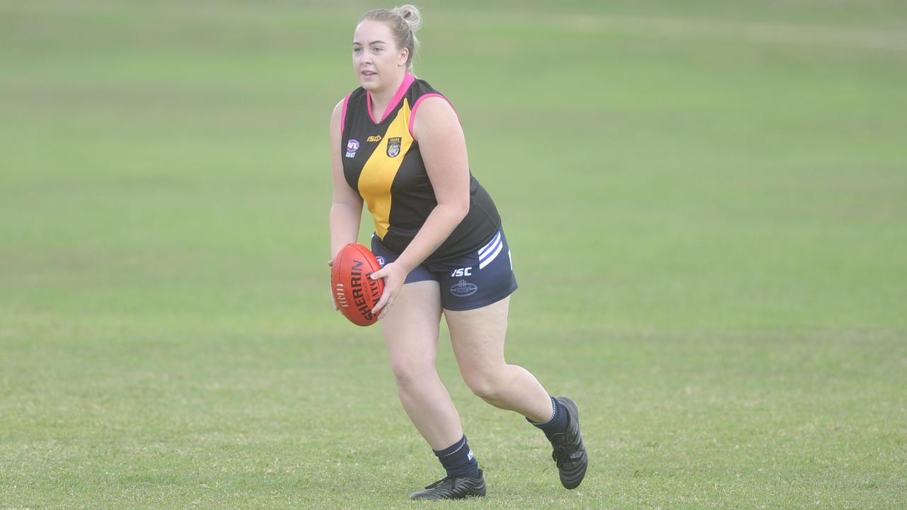 Tabatha Lilley at Grafton Women's AFL