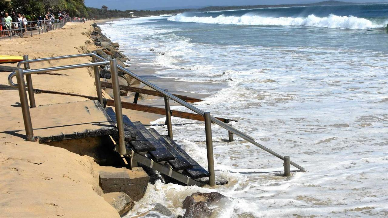 Erosion on Noosa's Main Beach may become far worse in the years ahead without interventions.