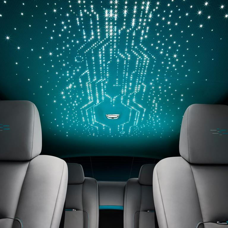 The usual starry headliner gets a techie overhaul in the Kryptos collection Wraith.